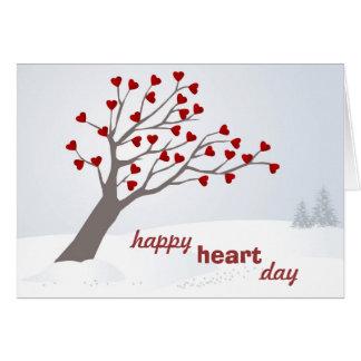 Una tarjeta feliz del el día de San Valentín del c
