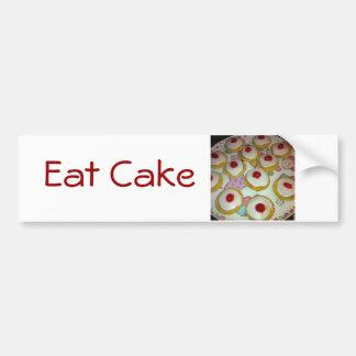 Una tarta de Bakewell de la cereza Pegatina Para Auto