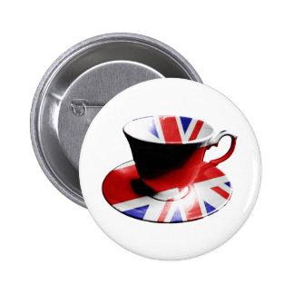 Una taza agradable de té inglés pin