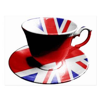 Una taza agradable de té inglés tarjetas postales