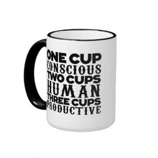 Una taza consciente de la taza