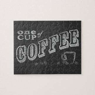 una taza de ARTE de la TIZA del café Rompecabezas Con Fotos