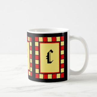 Una taza de B C