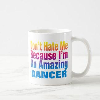 Una taza de café asombrosa del bailarín
