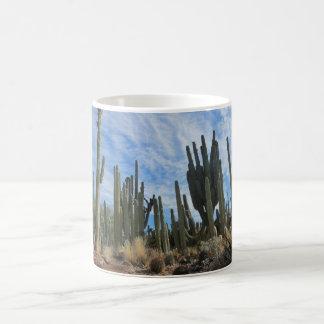 Una taza de café de los cactus