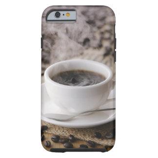 Una taza de café funda resistente iPhone 6