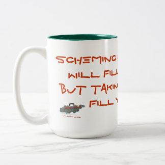 Una taza de café para los cumplidores