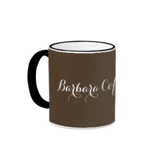una taza de café sólo personalizada