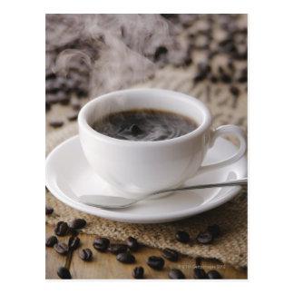 Una taza de café tarjetas postales