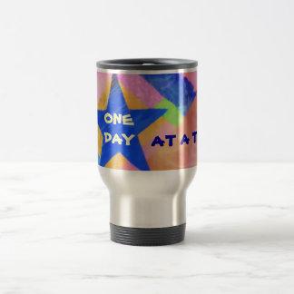 """Una taza de la """"estrella azul"""" del día a la vez"""