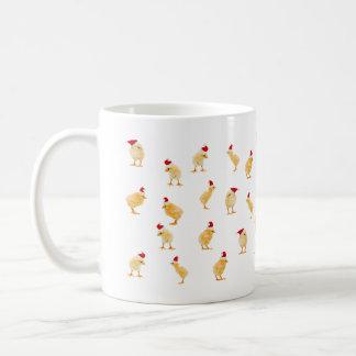 ¡Una taza de los pollos de las Felices Navidad!