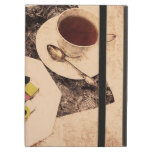 una taza de té y de caramelo de allsorts