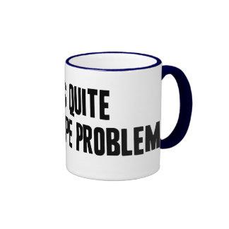 Una taza del problema de tres tubos