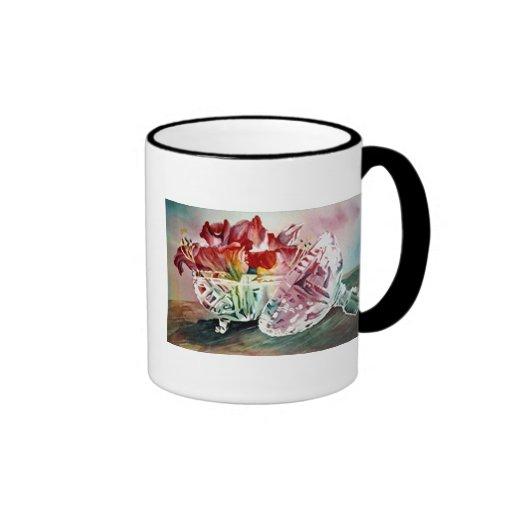 Una taza elegante del regalo
