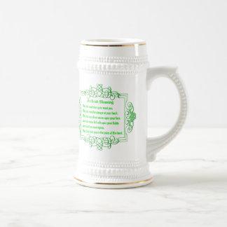 Una taza irlandesa de la bendición