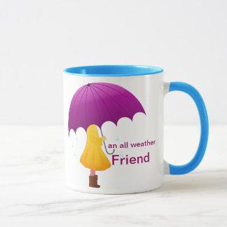 Una taza para cualquier estación del amigo