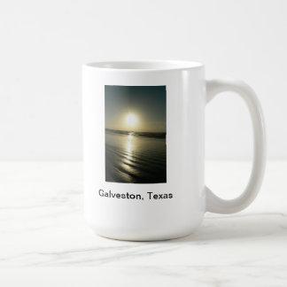 Una taza única con la fotografía de Galveston Teja