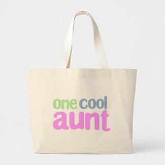 Una tía fresca T-shirt Bolsa De Tela Grande