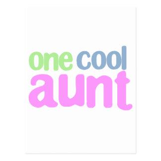 Una tía fresca T-shirt Postal