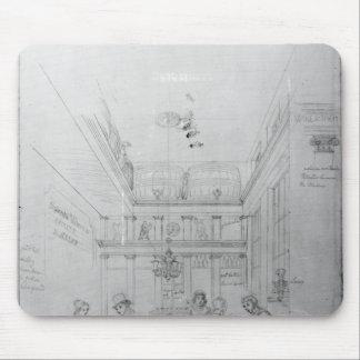 Una tienda del licor de Londres, 1839 Alfombrilla De Raton
