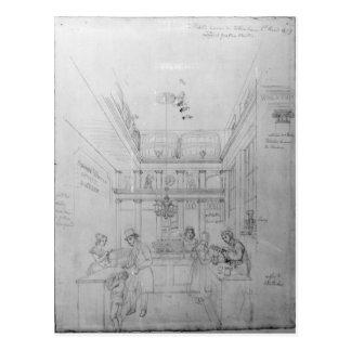 Una tienda del licor de Londres, 1839 Postales