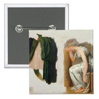 Una toga y un Camilo verdes Pin