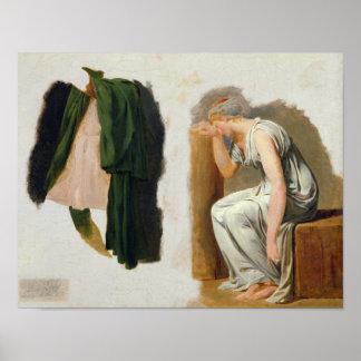 Una toga y un Camilo verdes Póster