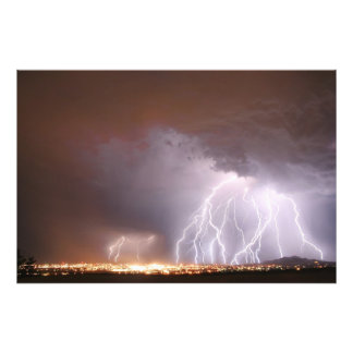 Una tormenta enojada fotografia