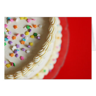 Una torta apenas para usted tarjeta pequeña