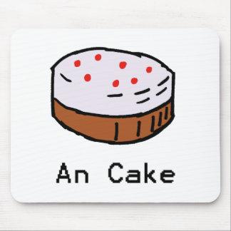 Una torta Mousemat Tapete De Ratón