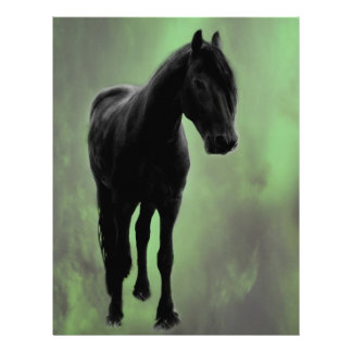 Una tranquilidad de los caballos membretes personalizados