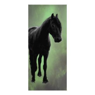 Una tranquilidad de los caballos tarjetas publicitarias personalizadas