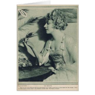 Una Trevelyn 1920 Card
