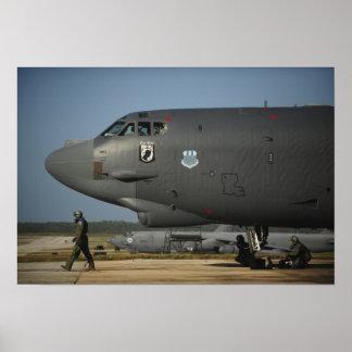 Una tripulación aérea de la fuerza aérea de los póster