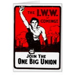 Una unión grande - tarjeta