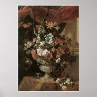 Una urna de flores, 1698 posters
