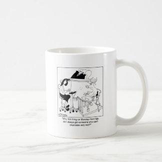 Una vaca da testimonio taza clásica