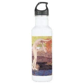Una vanidad, detalle de Giovanni Segantini Botella De Agua De Acero Inoxidable