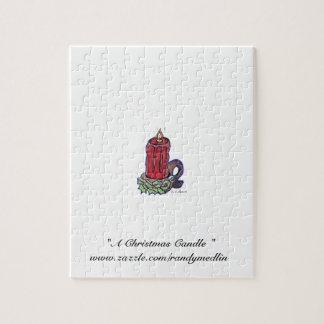 """""""Una vela del navidad """"… Rompecabezas"""