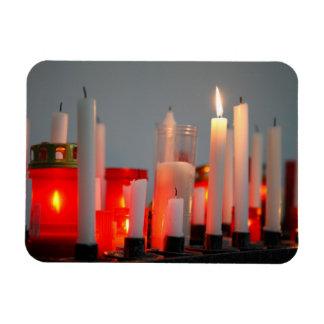 Una vela para la paz imanes flexibles
