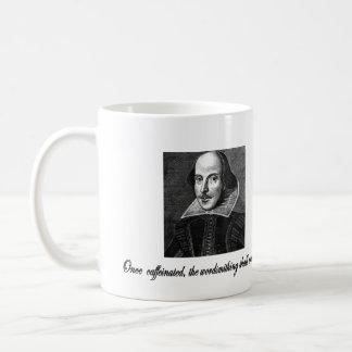Una vez Caffeinated, el Wordsmithing comenzará Taza Clásica