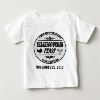 Una vez en un curso de la vida Thanksgivukkah Tee Shirt