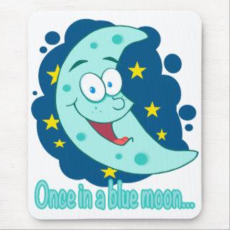 una vez en un dibujo animado de la luna azul tapetes de raton