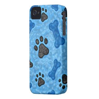 Una vez en un perro azul Case-Mate iPhone 4 coberturas