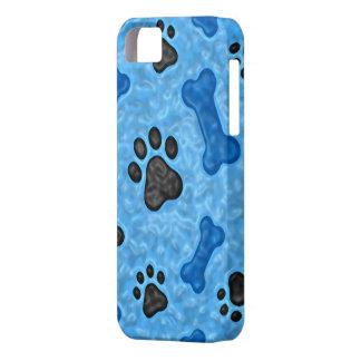 Una vez en un perro azul iPhone 5 fundas