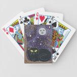 Una vez en una luna azul afortunada baraja de cartas