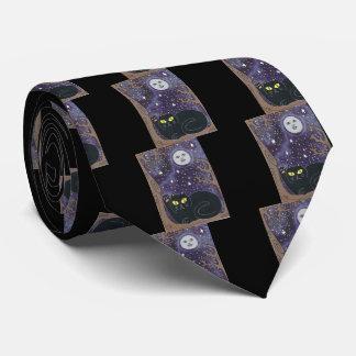Una vez en una luna azul afortunada corbata personalizada