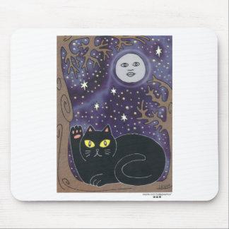 Una vez en una luna azul afortunada alfombrilla de ratón