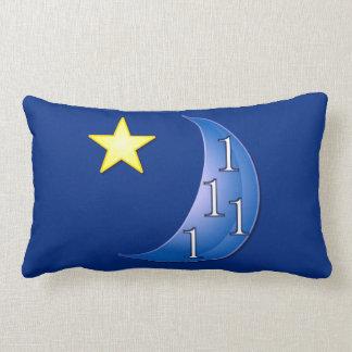 Una vez en una luna azul almohada