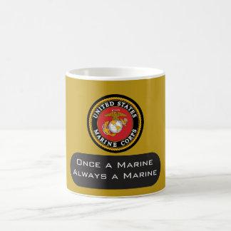Una vez que un infante de marina siempre un infant taza